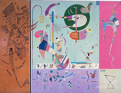 Various Mixed Media - Various Parts by Kandinsky