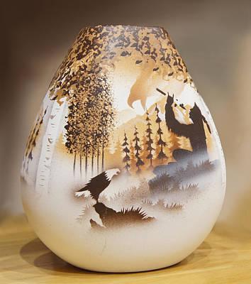 Vase Print by Art Spectrum
