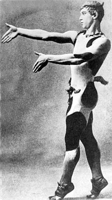 Vaslav Nijinsky, Russian Dancer Print by Everett