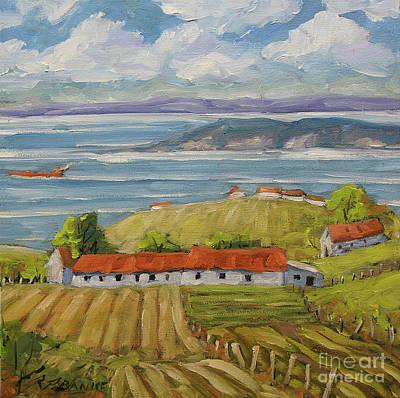 Painting - Vast Horizon by Richard T Pranke