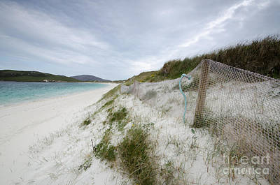 Bay Photograph - Vatersay Beach by Stephen Smith