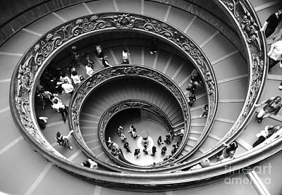 Vatican Bw Print by Stefano Senise