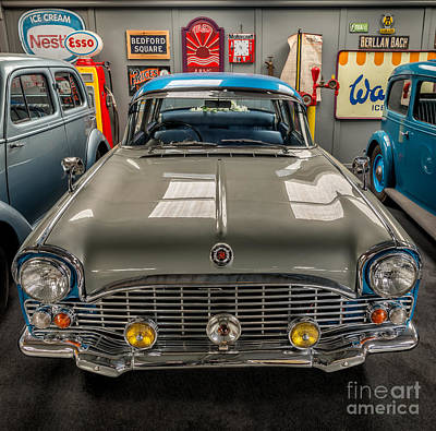 Vauxhall Cresta Pa Print by Adrian Evans