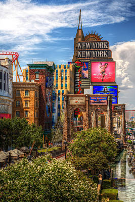 Vegas Baby Print by James Marvin Phelps