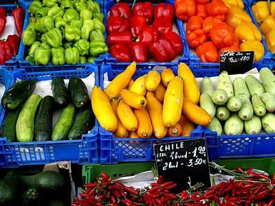 Avacados Photograph - Vegetables by Ian  MacDonald