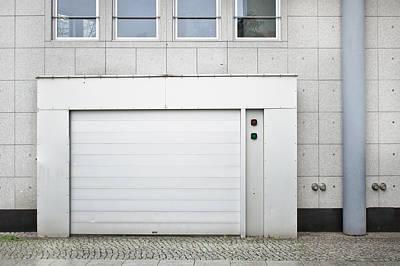 Vehicle Entry Door Print by Tom Gowanlock