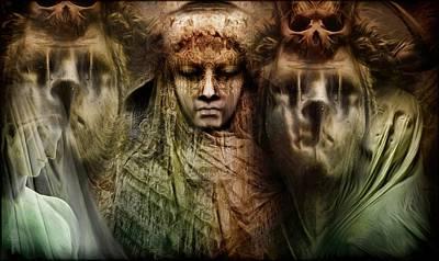 Veiled Shadows  Original by Daniel  Arrhakis