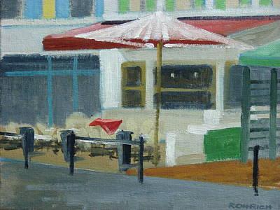 Vence Restaurant Print by Robert Rohrich