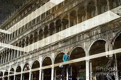 Landmarks Photograph - Venetian Reflections by Yuri Santin