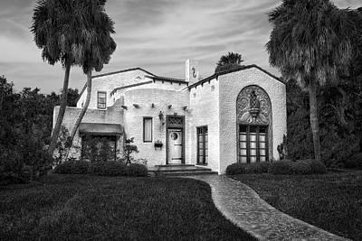 Florida House Photograph - Venetian Style 1926 Florida Home - 38 by Frank J Benz
