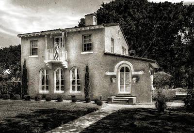 Florida House Photograph - Venetian Style 1926 Florida Home - 42 by Frank J Benz