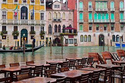 Venezia Ambiance Print by Frozen in Time Fine Art Photography