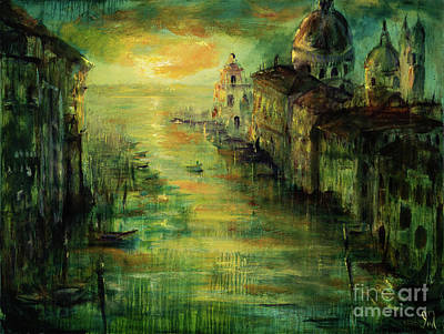 Venezia Basilica Original by Jodi Monahan
