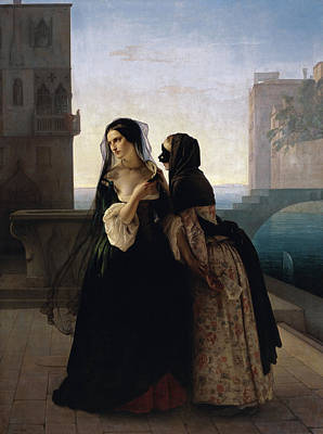 Hayez Painting - Vengeance Is Sworn by Francesco Hayez