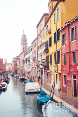 Venice Afternoon Print by Sonja Quintero
