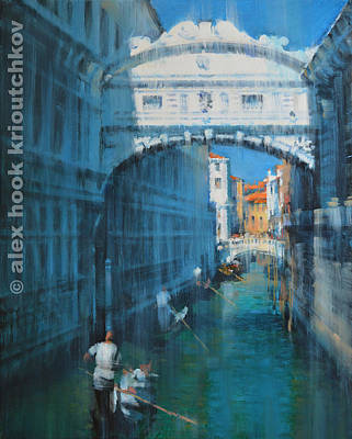 Venice Print by Alex Hook Krioutchkov