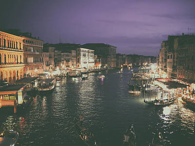 Venice At Twilight Print by Mountain Dreams