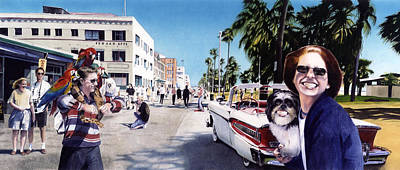 Venice Beach Painting - Venice Beach by Denny Bond