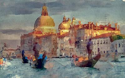 Venice Beauty 23 Print by Yury Malkov