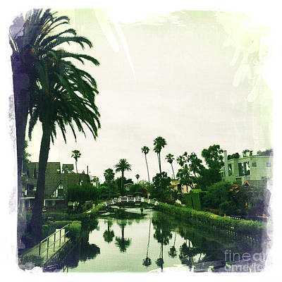 Los Angeles Photograph - Venice Canals by Nina Prommer