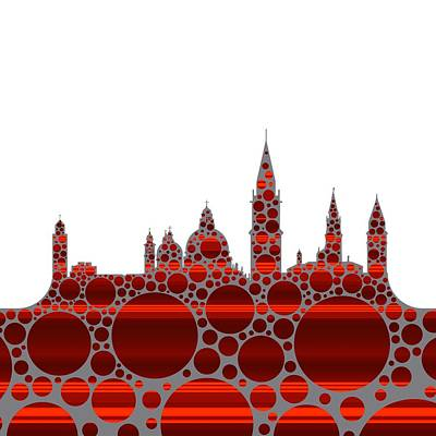 Europe Digital Art - Venice Cool Skyline 2 by Alberto RuiZ