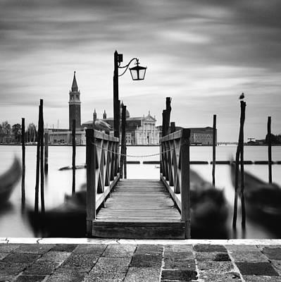 Veneto Photograph - Venice Gondolas IIi by Nina Papiorek