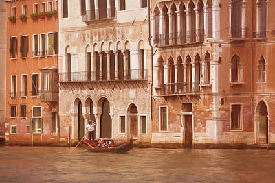 Venice Photograph - Venice Italy by George Robinson