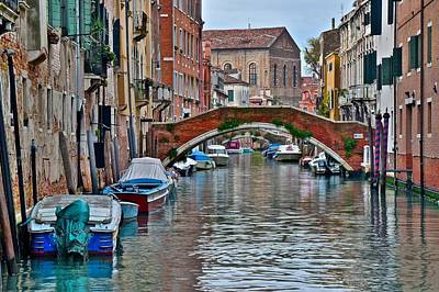 Venice Landscape Print by Frozen in Time Fine Art Photography