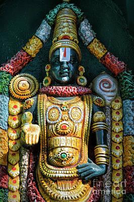 Lakshmi Photograph - Venkateswara by Tim Gainey