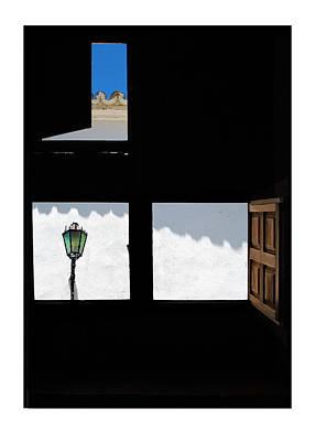 Ventanas Espanolas Print by Mal Bray