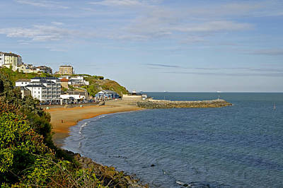 Ventnor Bay Print by Rod Johnson
