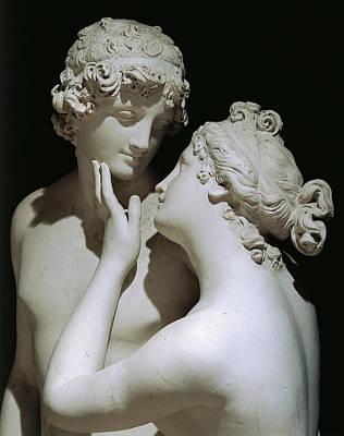 Greek Sculpture - Venus And Adonis by Antonio Canova