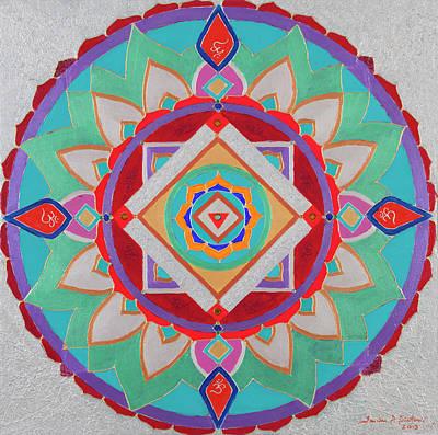 Venus Mandala Original by Sandra Petra Pintaric