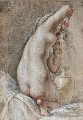 Drawing - Venus Preparing For The Bath by Thomas Lawrence