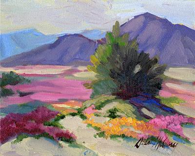Verbena Painting - Verbena 2 by Diane McClary