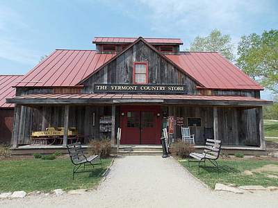 Vermont Country Store Photograph - Vermont Country Store by Catherine Gagne
