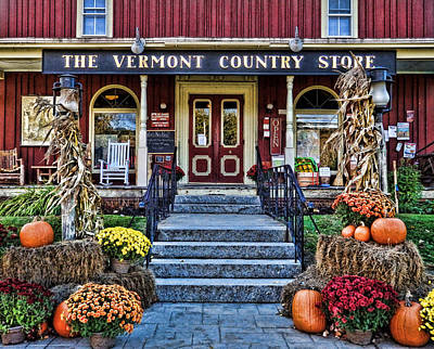 Vermont Country Store Photograph - Vermont Country Store by Nancy  de Flon