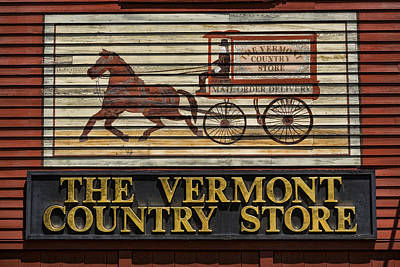 Vermont Country Store Photograph - Vermont Country Store by Stephen Stookey