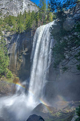 Vernal Fall Yosemite National Park Print by Scott McGuire