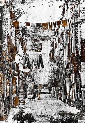 City Scenes Mixed Media - Verona Italy by Frank Tschakert