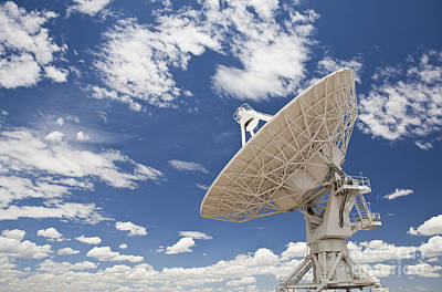 Antenna Photograph - Very Large Array Antenna by Bryan Mullennix