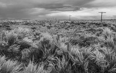 Telephone Poles Photograph - Vestige Of Route 66 by Joseph Smith