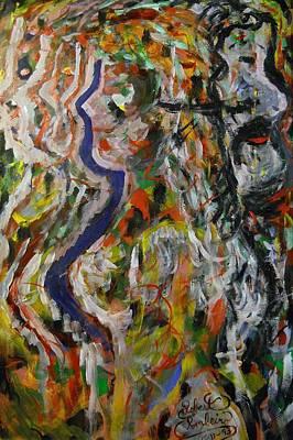 Vibrations Of Love  Print by Robert Rombeiro