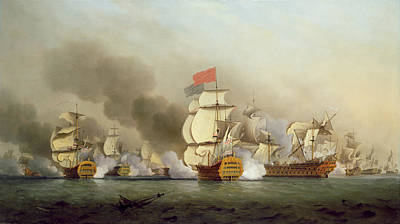 Vice Admiral Sir George Anson's Print by Samuel Scott
