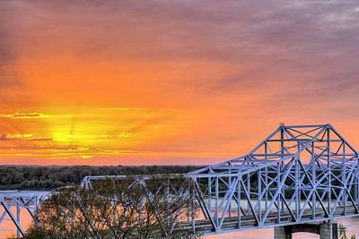 Vicksburg Mississippi Print by JC Findley