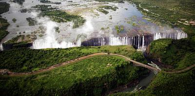 Zambesi River Photograph - Victoria Falls by Alberto Audisio