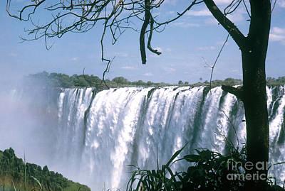Victoria Falls Print by Photo Researchers, Inc.