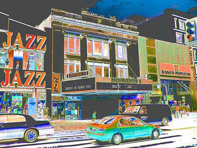 Harlem Digital Art - Victoria Theater 125th St Nyc by Steven Huszar