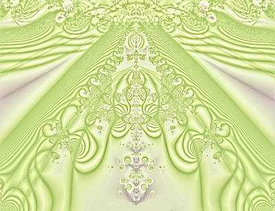 Victoriam Lime Lace Original by Linda Phelps