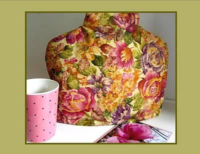Tea Photograph - Victorian Flower Garden Tea Cozy Photo by Gretchen Wrede